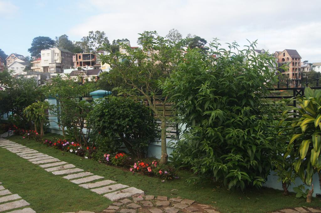 Sân vườn của hoxuanhuong villa