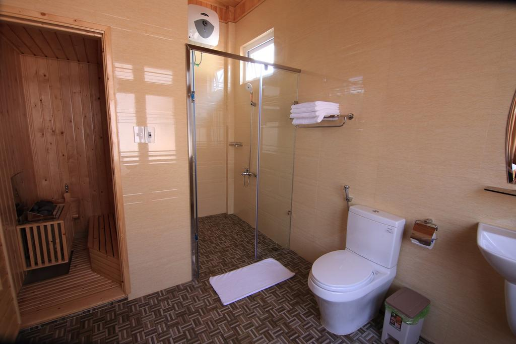 Nhà vệ sinh của villa tuan pham
