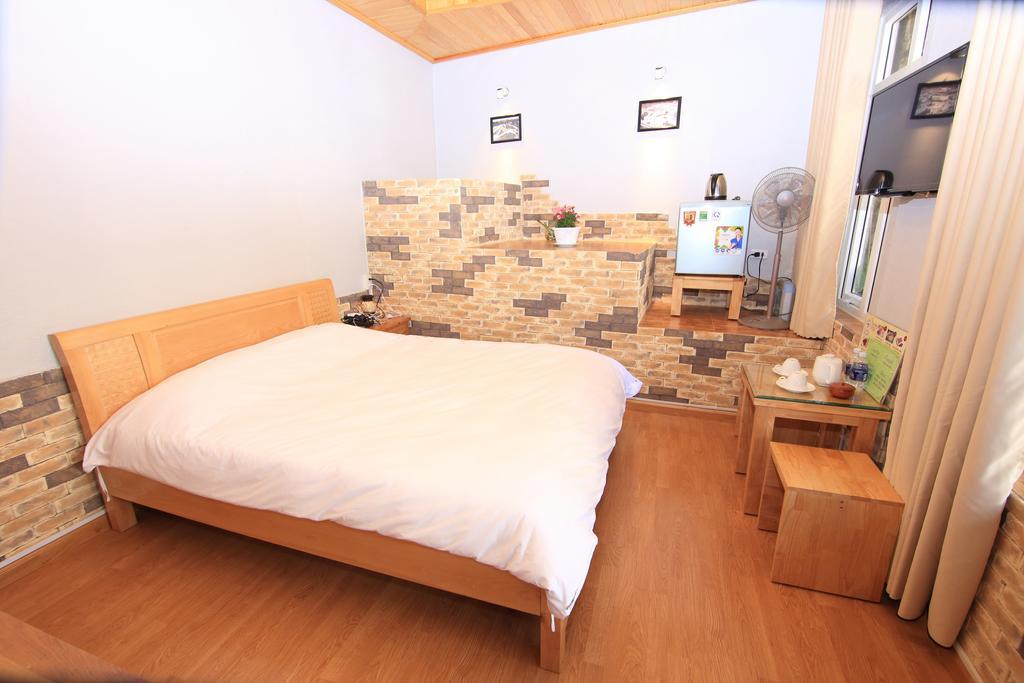 Phòng ngủ của villa tuan pham