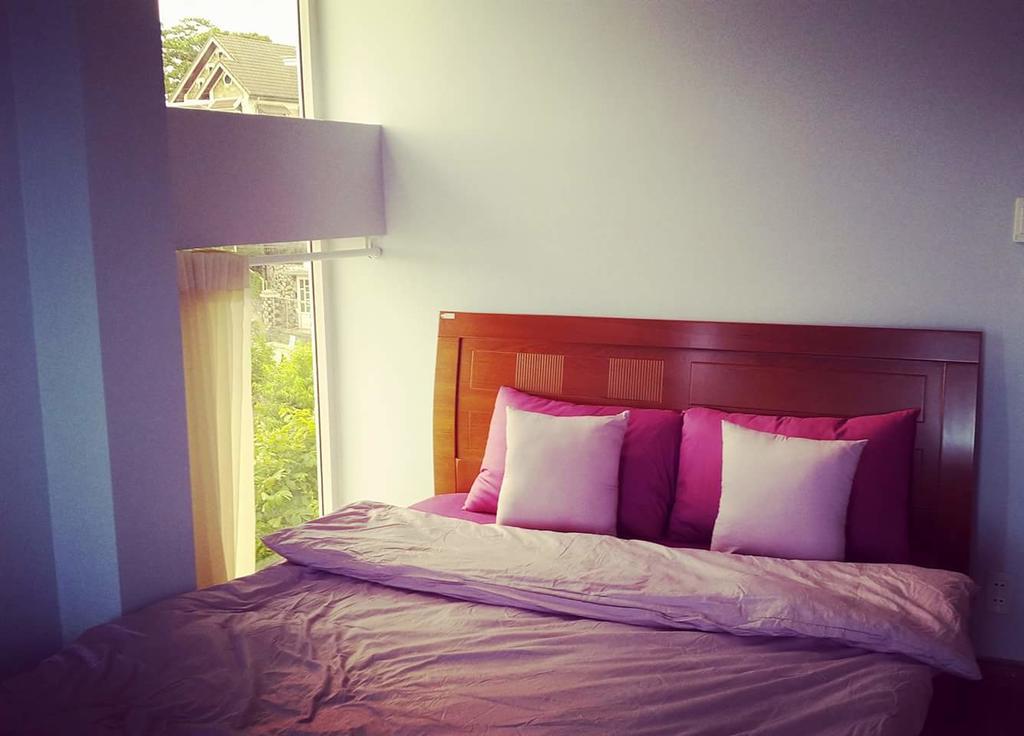 Phòng ngủ của an villa dalat