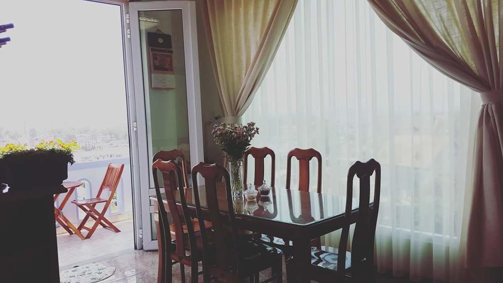 Phòng ăn an villa dalat