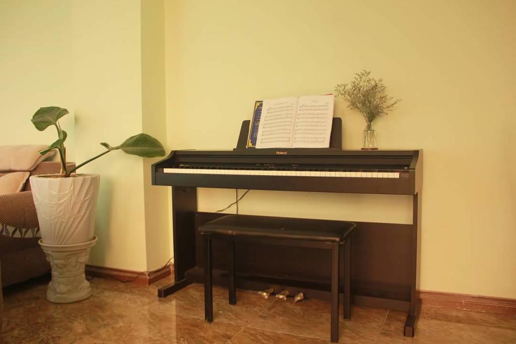 Phòng khách của an villa dalat