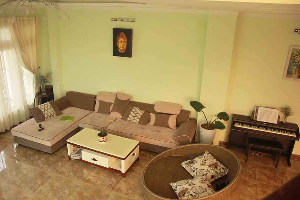 Phòng khách an villa dalat