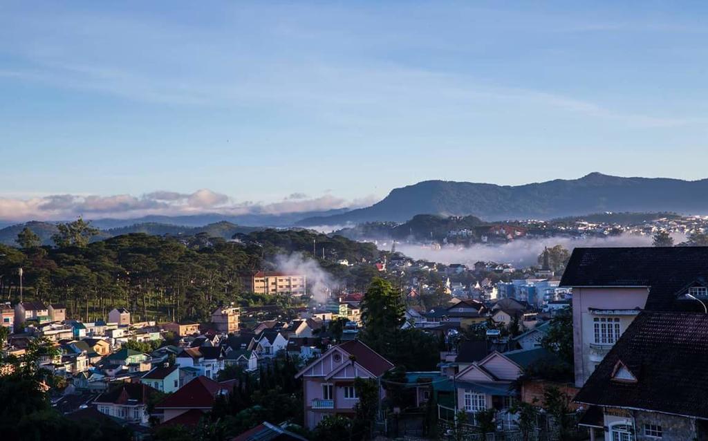 View nhìn ra thành phố của an villa
