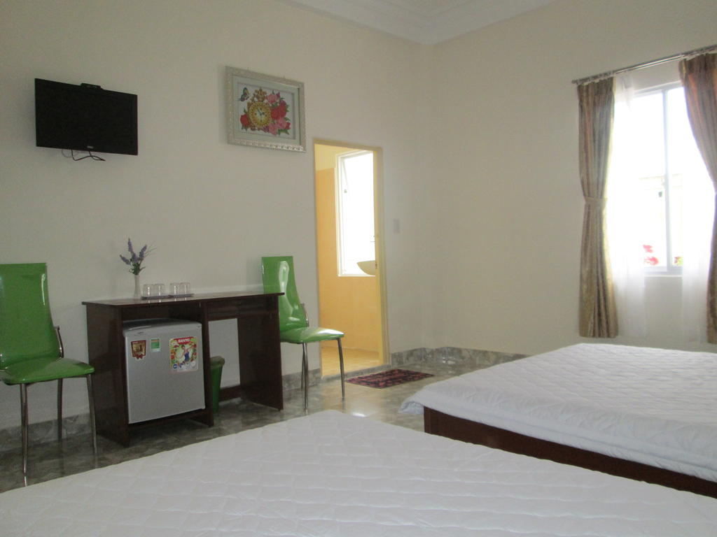 Phòng ngủ của villa khanh lam