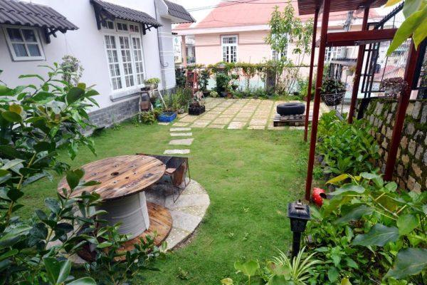 Sân vườn của La Dalat Villa 4