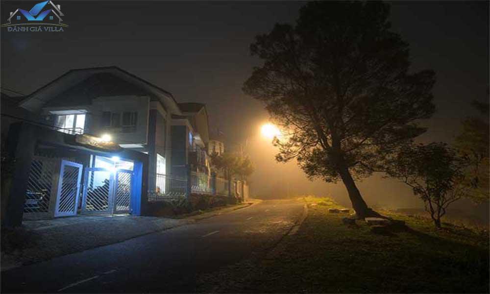 biệt thự cho thuê thành phố sương mùa