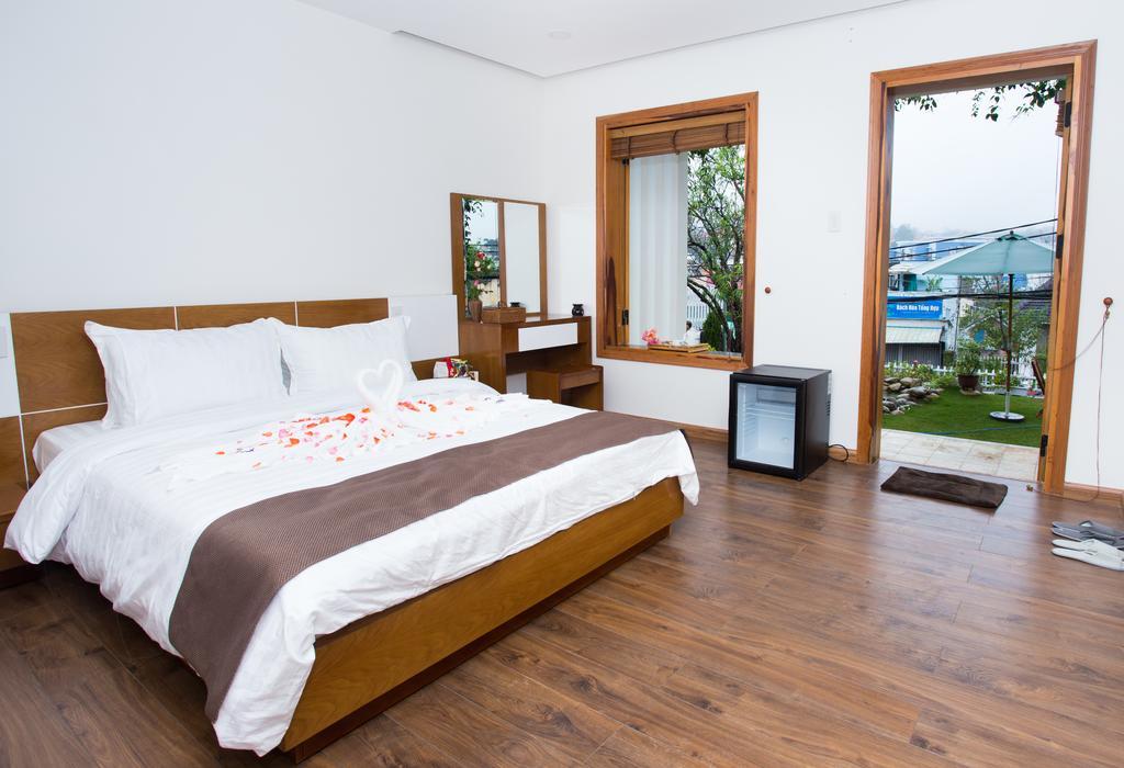 Phòng ngủ của vanda villa