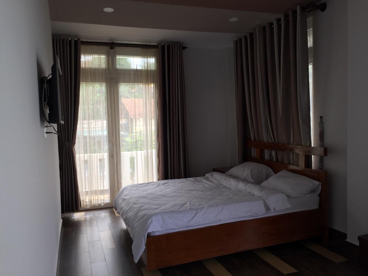 Phòng ngủ 1 giường tại hoa le