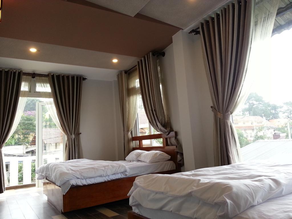 Phòng ngủ của biệt thự cho thuê hoa le