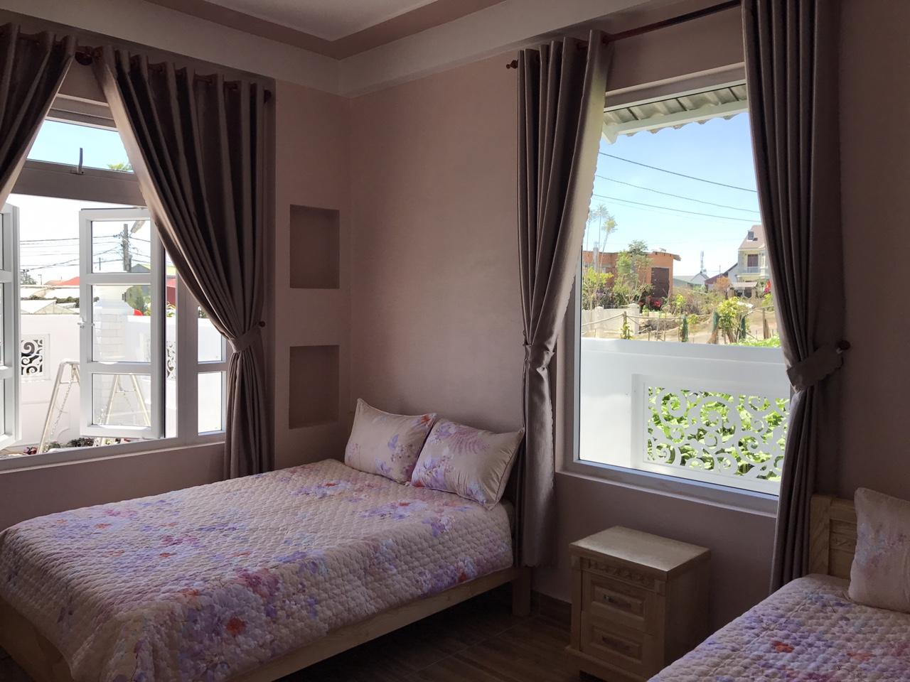 Phòng ngủ của hồng vy villa
