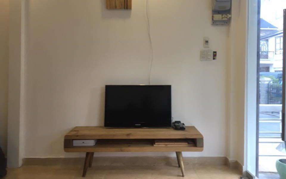 Phòng khách của mini house dalat